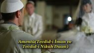 Amentü(Tecdid-i İman ve Tecdid-i Nikah Duası)