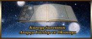 Kureyş Suresinin Arapça Yazılışı ve Okunuşu