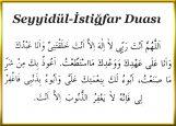 Seyyidül-İstiğfar Duası Nedir? Nasıl Yapılır?