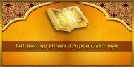 Tahmidiye Duası Arapça Okunuşu