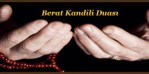 Berat Kandili Duası