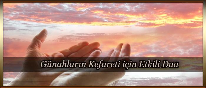 Günahların Kefareti için Etkili Dua