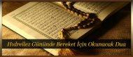 Hıdrellez Gününde Bereket İçin Okunacak Dua