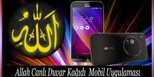 Allah Canlı Duvar Kağıdı Mobil Uygulaması