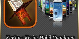 Kur'an-ı Kerim Mobil Uygulaması