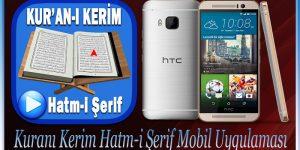 Kuranı Kerim Hatm-i Şerif Mobil Uygulaması