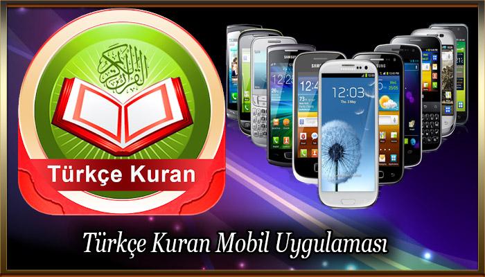 Türkçe Kuran Mobil Uygulaması
