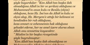 İman ve İslamın Fazileti Resimli Hadisler