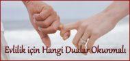 Evlilik için Hangi Dualar Okunmalı