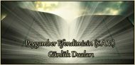 Peygamber Efendimizin (S.A.V.) Günlük Duaları