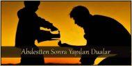 Abdestten Sonra Yapılan Dualar