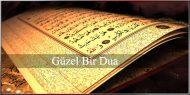 Güzel Bir Dua