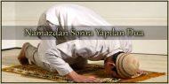 Namazdan Sonra Yapılan Dua