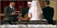 Tecdidi İmân ve Nikâh Duâsı