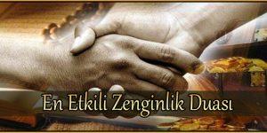 En Etkili Zenginlik Duası