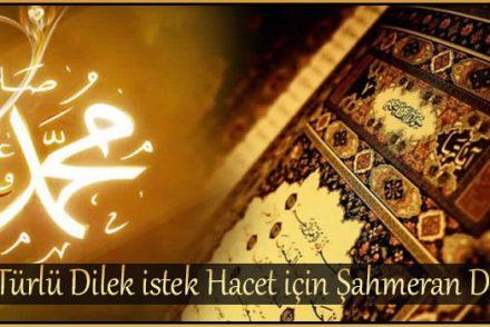 Her Türlü Dilek istek Hacet için Şahmeran Duası