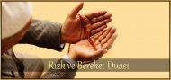 Rızık ve Bereket için Okunacak Duası