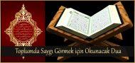 Toplumda Saygı Görmek için Okunacak Dua