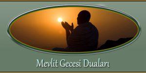 Mevlit Gecesi Duaları