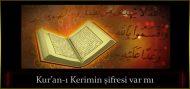Kur'an-ı Kerimin şifresi var mı