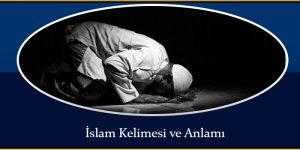 İslam Kelimesi