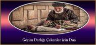 Geçim Darlığı Çekenler için Dua