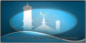 Allah'a sığınma duası