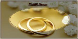 Evlilik Duası
