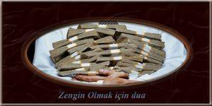 Zengin Olmak için dua