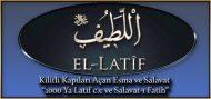 """Kilitli Kapıları Açan Esma ve Salavat """"1000 Ya Latif c.c ve Salavat-ı Fatih"""""""