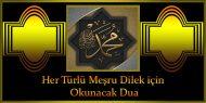 Her Türlü Meşru Dilek için Okunacak Dua