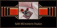 Salih Mü'minlerin Duaları