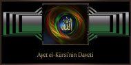 Ayet el-Kürsi'nin Daveti