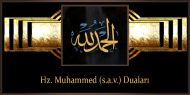 Hz. Muhammed (s.a.v.) Duaları