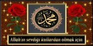 Allah'ın sevdiği kullardan olmak için