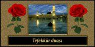 Tefekkür Duası