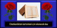 Unutkanlıktan kurtulmak için okunacak dua