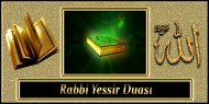 Rabbi Yessir Duası