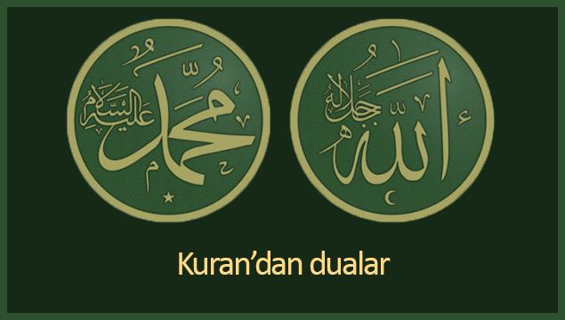 Kuran'dan dualar