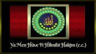 Ya Men Hüve Fi Hilmihi Hakim (c.c.)