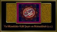 Ya Müsebbibr Külli Şeyin ve Mukaddirah (c.c.)