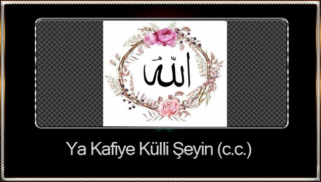 Ya Kafiye Külli Şeyin (c.c.)