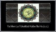 Ya Men La Yükallibül Kalbe İlla Hu (c.c.)