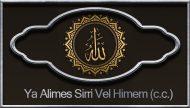 Ya Alimes Sirri Vel Himem (c.c.)
