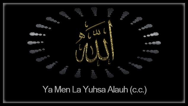 Ya Men La Yuhsa Alauh (c.c.)